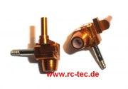Alu-Achsschenkel MR015/02 gold 2 Grad