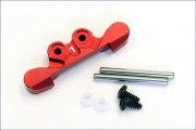 Aufhängung Mini-Z Buggy HA Alu rot 1°