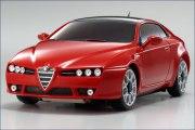Karosserie AWD Alfa Brera, rot 90mm