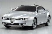 Karosserie AWD Alfa Brera, silber 90mm