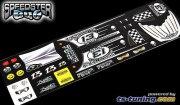 Dekorbogen für TS-Tuning Speedster BUG Karosse