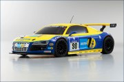 Karosserie Mini-Z AWD Audi R8 Phoenix Racing (98mm MM)