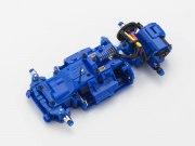Mini-Z MR-03 VE ChassisSet ASF 2.4GHz JSCC blue Limited RM Brush