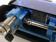 Reifenschleifmaschiene PN-Racing für Mini-Z Alu blau