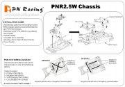 Mini-Z MR03 PNR2,5W Chassis Set schwarz