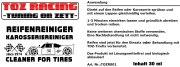 Reifen- und Karosseriereiniger TOZ-Racing 30 ml