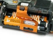 Batterieclip Mini-Z MR03 Alu orange V2