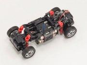 Set Mini-Z Overland Sports Mercedes AMG G55L rot met. 2,4 GHz