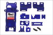 Kleinteilesatz fuer Chassis, Mr-02, blau