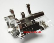 hinteres Getriebegehäuse Alu Mini-Z Monster silber