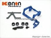 PN Racing Mini-Z 98-102mm V4 LCG Motor Mount (Blue)