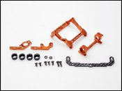 PN Racing Mini-Z 93-102mm Multi Motor Mount (orange)