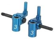 Lenkhebel Mini-Z MR05/02 Alu blau 3° 3Racing