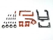 PN Racing Mini-Z 98mm Carbon Fiber Motor Mount (orange) MM