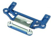 Aluminium Rear Bulkhead blue/silver 3Racing