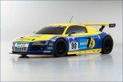 Karosserie Mini-Z AWD Audi R8 Phoenix Racing (98mm MM)