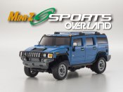 Set Mini-Z Overland Sports Hummer H2 blau 2,4 GHz