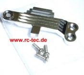 Motorkühlplatte Mini-Z Formel 1Alu silber