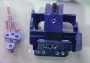 Motorhalter Mini-Z MR01 Alu blue