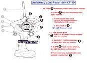 Anleitung zum Rückstellen der KT-19