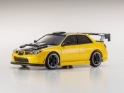 Karosserie Mini-Z AWD Subaru Impreza WRX hood met. yellow 90mm