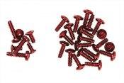 Schraubensatz Mini-Z Overland rot