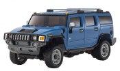 Karosserie Mini-Z Hummer H2 blau Overland