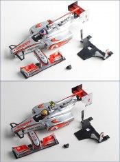 Karosserieset Mini-Z McLaren Mercedes F1 MF015 (mfb41/mfb42)