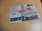 Setup- und Schraubermatte 20 Jahre Mini-ZShop klein