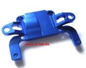 hintere Getriebeabdeckung AWD Alu blau