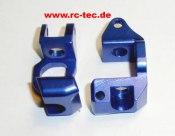 Radträger vorn Aluminium blau