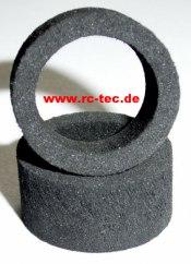 Moosgummi-Reifen (Paar) Extrabreit 15mm 3,5 Shore